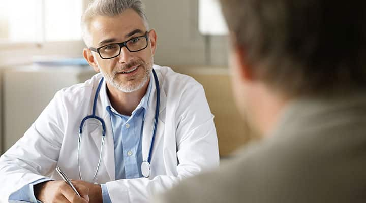 Doctor and patient discussing incorporating ashwagandha