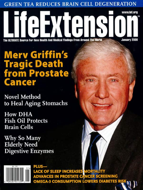 Magazine Cover January 2008