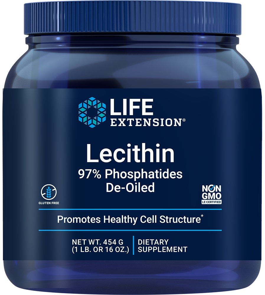 Lecithin - Promotes healthy cell structure