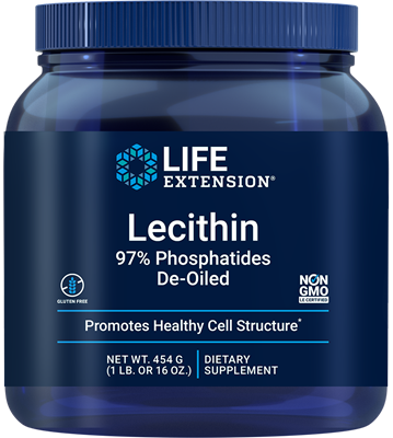 Lecithin, 454 grams - Life Extension