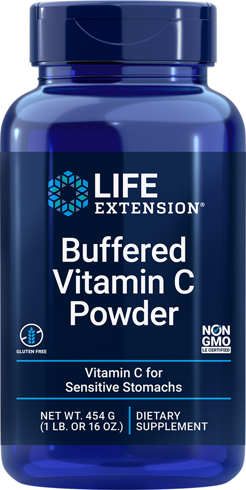 Buffered Vitamin C Powder - Vitamin C for sensitive stomachs