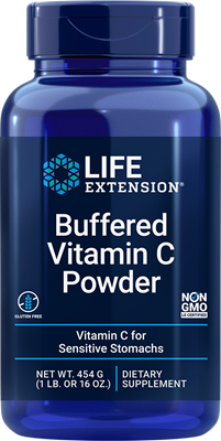 Buffered Vitamin C Powder, 454 grams - Life Extension