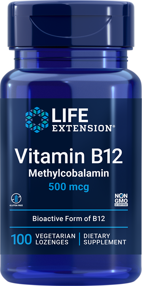 Vitamin B12 - Essential vitamin B12 lozenges that dissolve in your mouth