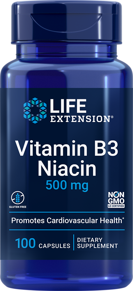 Vitamin B3 Niacin - Vital metabolic pathway & cellular energy support