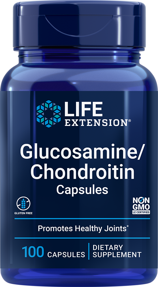 Glucosamine/Chondroitin Capsules - High quality nutrition for healthy joints and cartilage