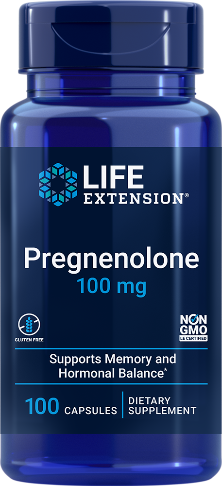 Pregnenolone - Helps support healthy hormone levels & brain function