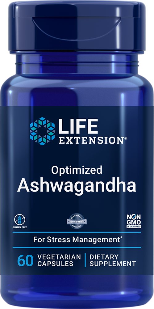 Optimized Ashwagandha Extract - Enhances mental energy and concentration