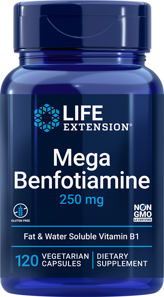 Mega Benfotiamine - Supports healthy blood sugar metabolism