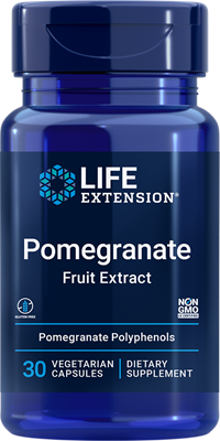 Pomegranate Fruit Extract, 30 vegetarian capsules - Life Extension