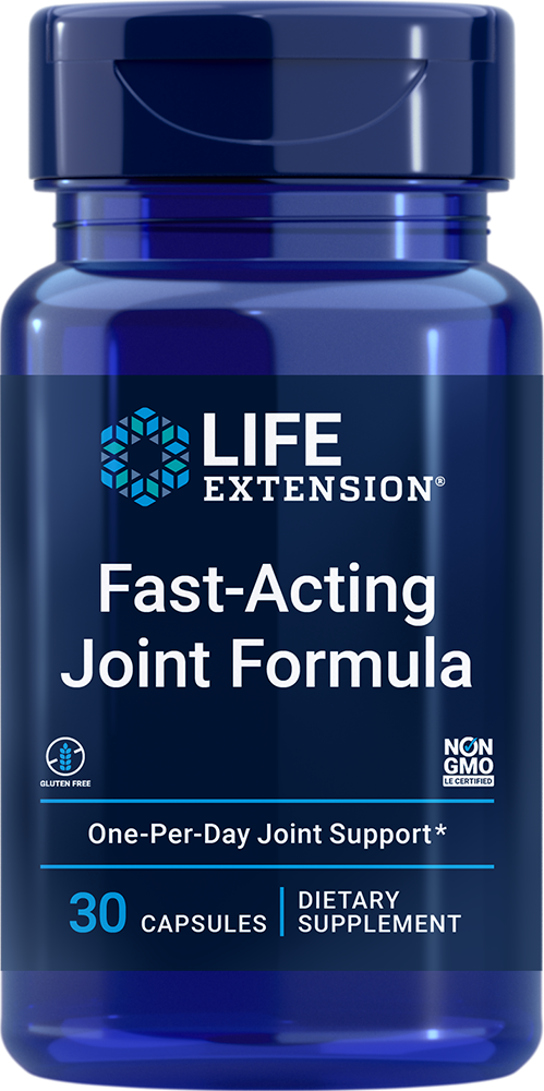 Fast-Acting Joint Formula - Don't let soreness slow you down!