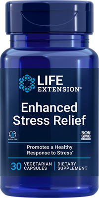 Enhanced Stress Relief, 30 vegetarian capsules - Life Extension