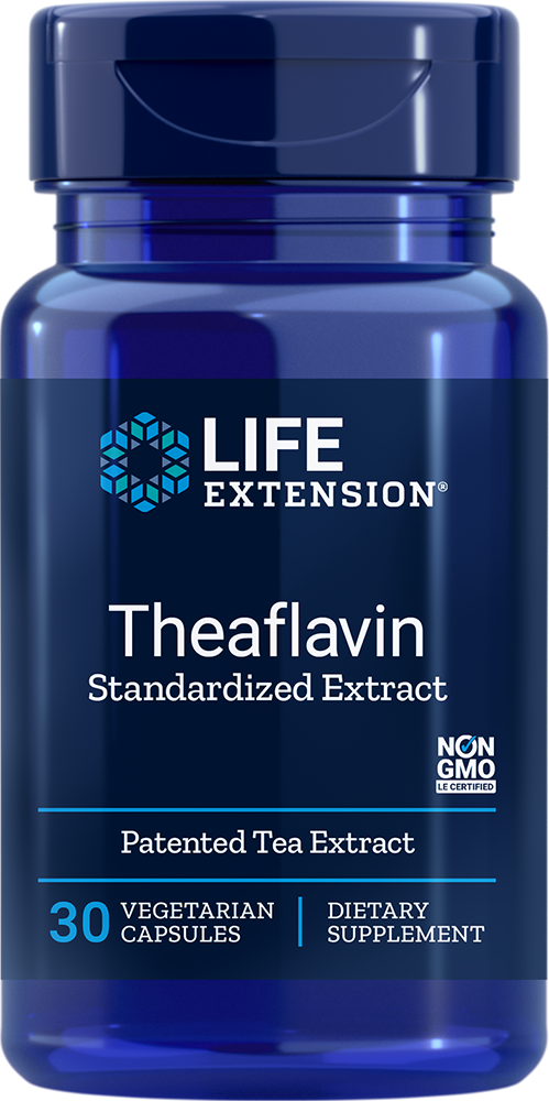 Theaflavin Standardized Extract - Beneficial flavonoids found naturally in tea leaves