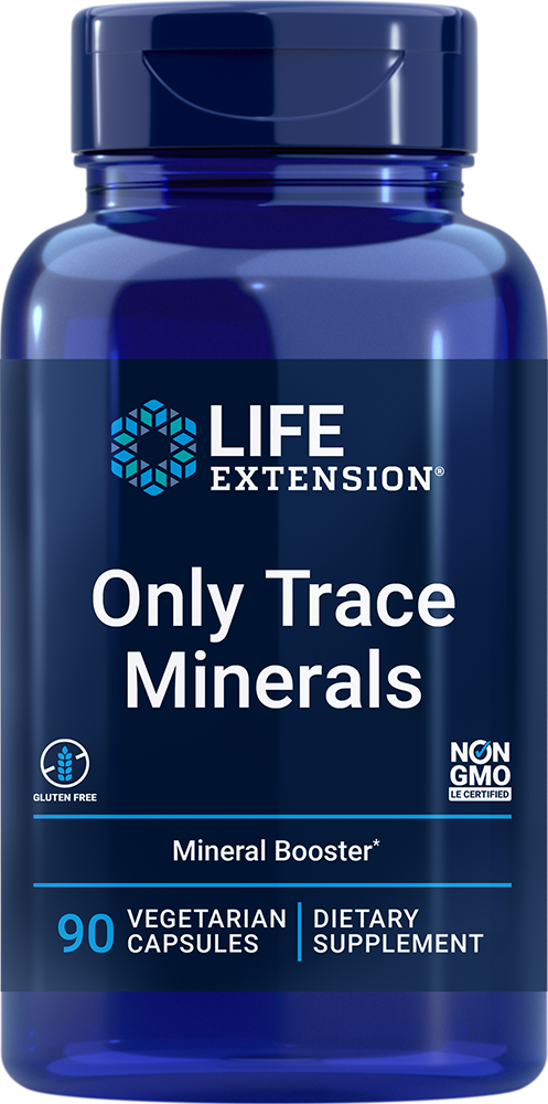 Only Trace Minerals - A daily dose of zinc, chromium, boron, and more