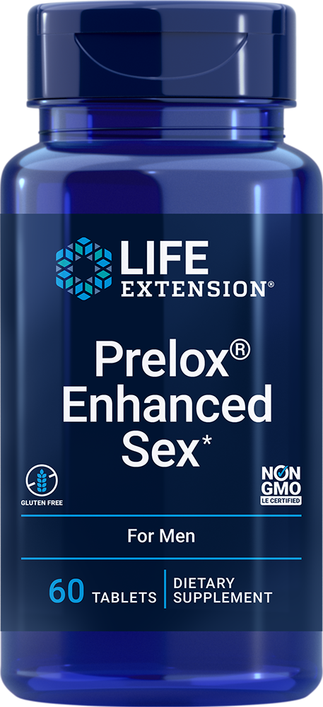 Prelox® Natural Sex for Men® - Promotes blood flow where men need it most