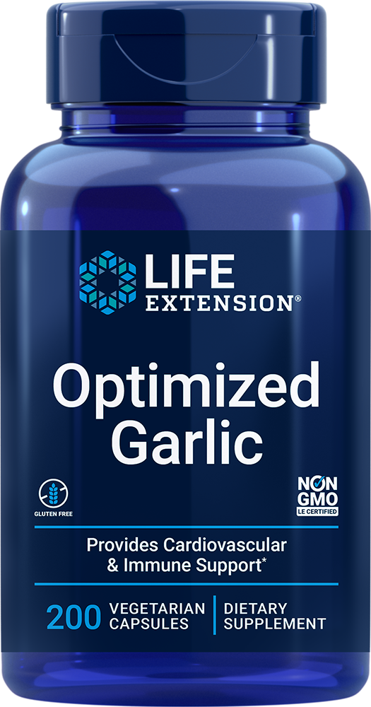 Optimized Garlic - Provides cardiovascular & immune support