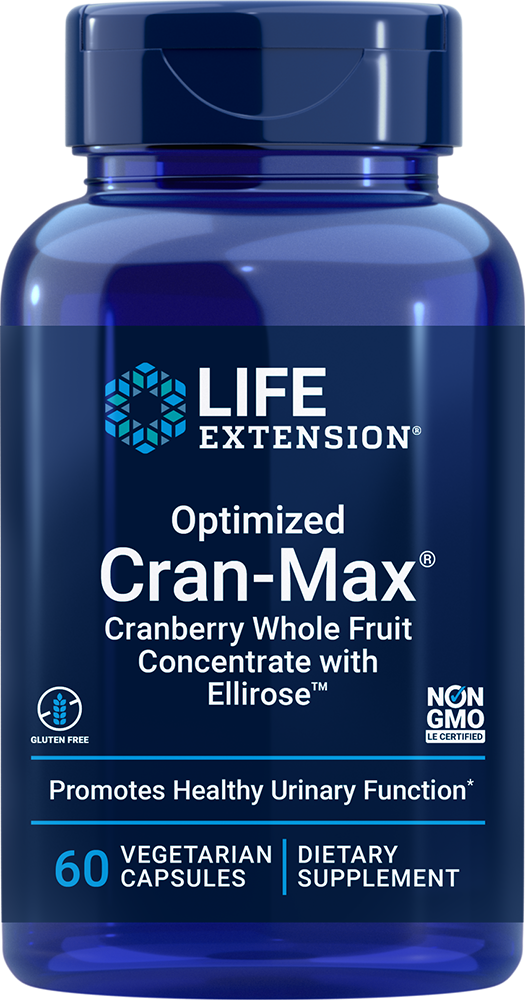 Optimized Cran-Max® - Supports a healthy female urinary tract