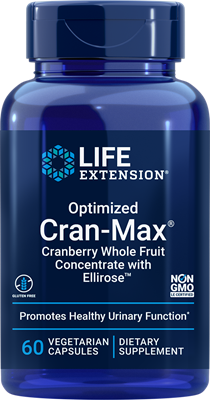 Optimized Cran-Max, 60 vegetarian capsules - Life Extension