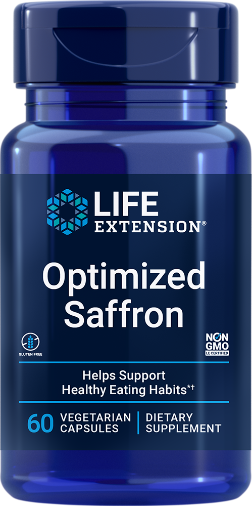 Optimized Saffron Extract With Satiereal 60 Capsules Life Extension