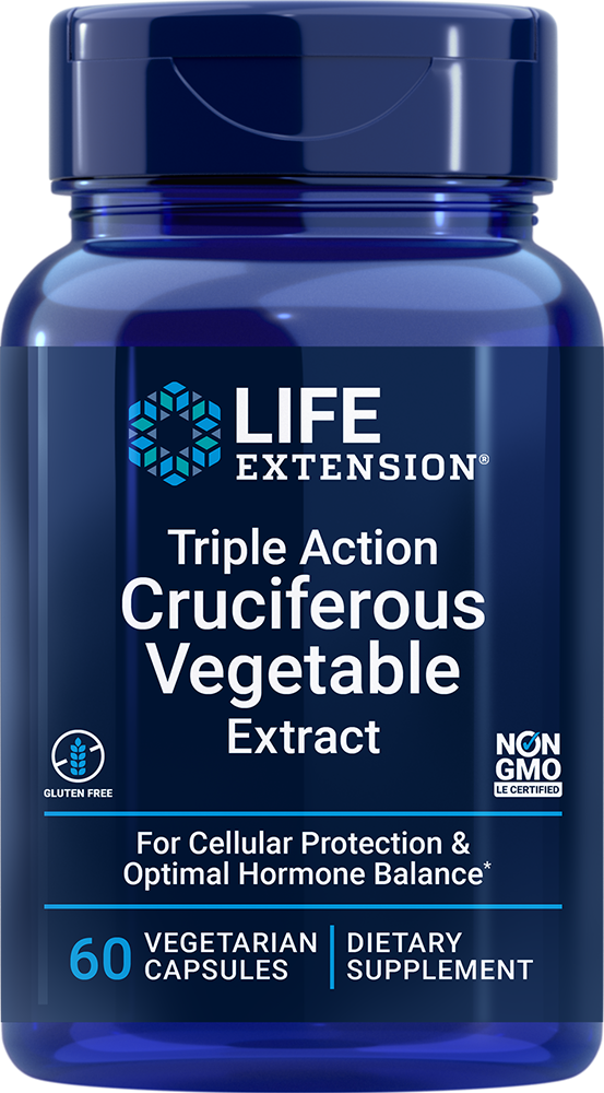 Triple Action Cruciferous Vegetable Extract - Maintain healthy hormone levels and DNA
