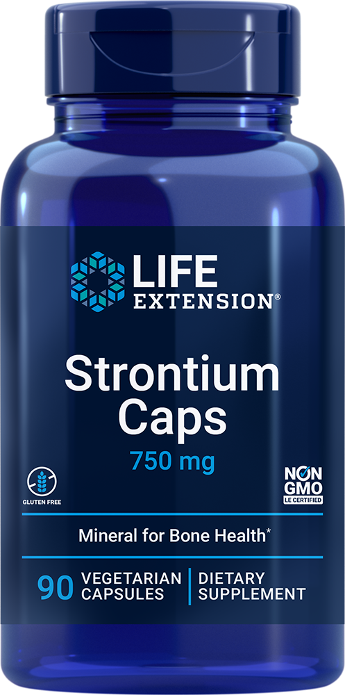 Strontium Caps - Ultimate nutrient for advanced bone health support