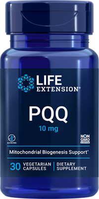 PQQ Caps, 10 mg, 30 vegetarian capsules - Life Extension