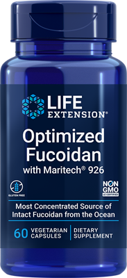 Optimized Fucoidan with Maritech 926, 60 vegetarian capsules - Life Extension