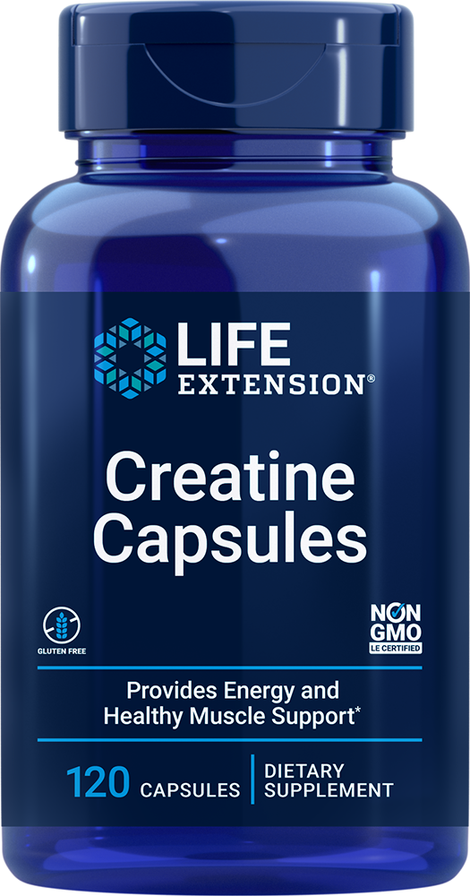 Creatine Capsules - Build strength & endurance