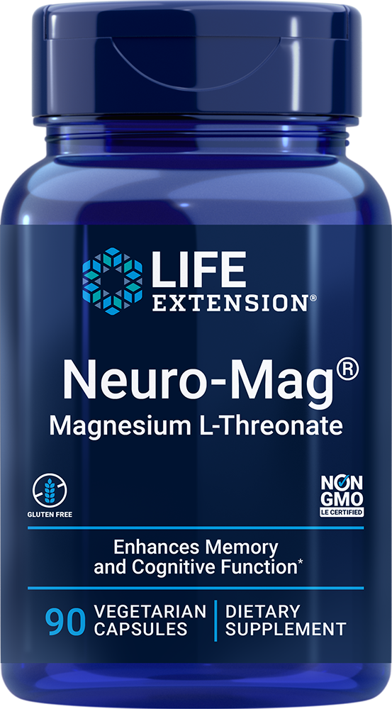 Neuro-Mag® Magnesium L-Threonate - Enhances memory and cognitive function