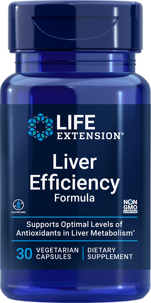 Liver Efficiency Formula - Support your liver at the cellular level
