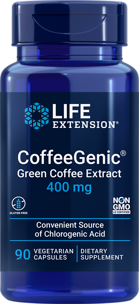 CoffeeGenic® Green Coffee Extract - Inhibits after-meal glucose spikes