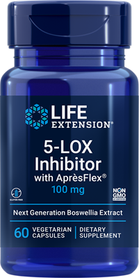 5-LOX Inhibitor with AprèsFlex, 100 mg, 60 vegetarian capsules - Life Extension