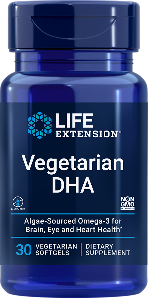 Vegetarian DHA - Targeted brain support