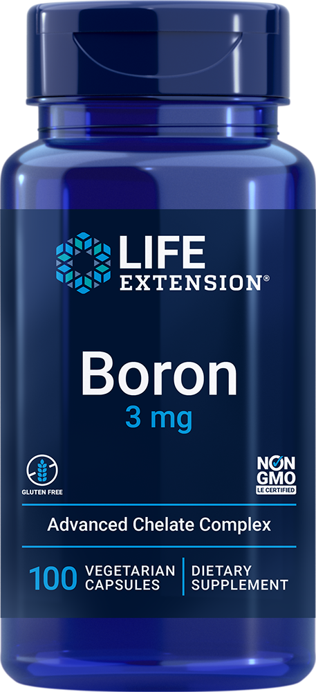 Boron - Supports healthy calcium metabolism and prostate health