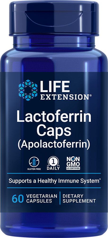 Lactoferrin (apolactoferrin) Caps - Supports a healthy immune system