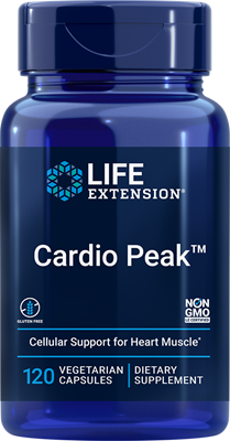 Cardio Peak, 120 vegetarian capsules - Life Extension