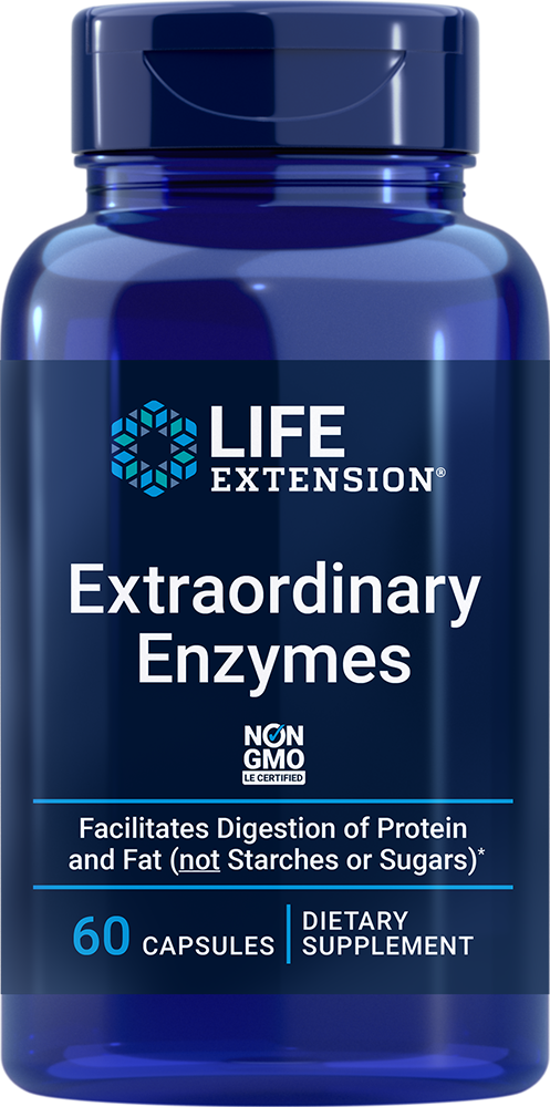 Extraordinary Enzymes - Stay comfortable after meals
