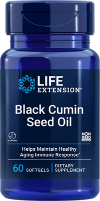 Black Cumin Seed Oil, 60 softgels - Life Extension