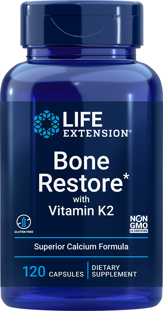 Bone Restore with Vitamin K2 - Highly absorbable nutrients for greater bone health