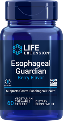 Esophageal Guardian (Berry), 60 chewable tablets - Life Extension