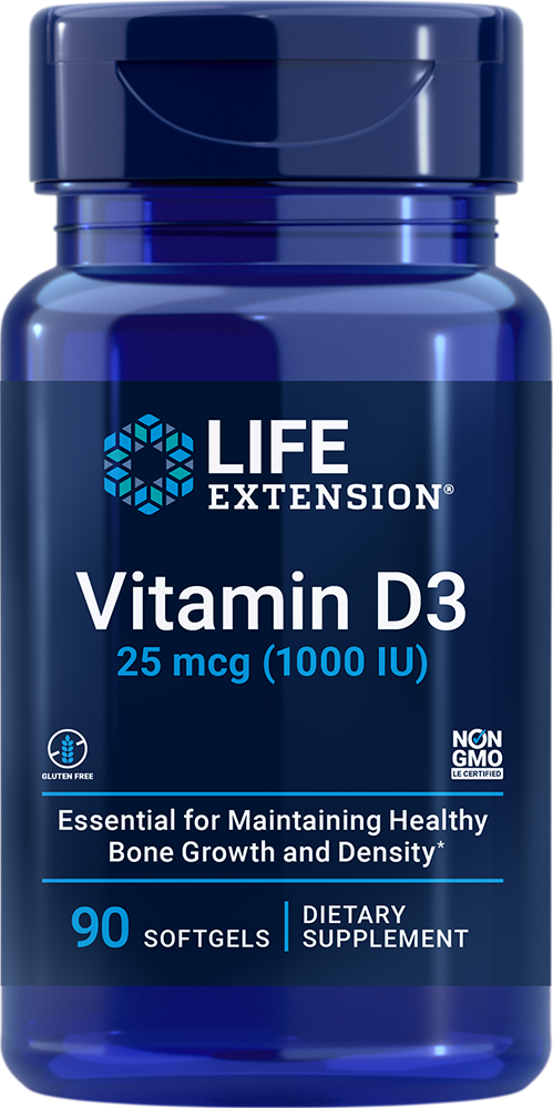 "Vitamin D3 - Inhibit ""Sunshine Vitamin"" deficiency"