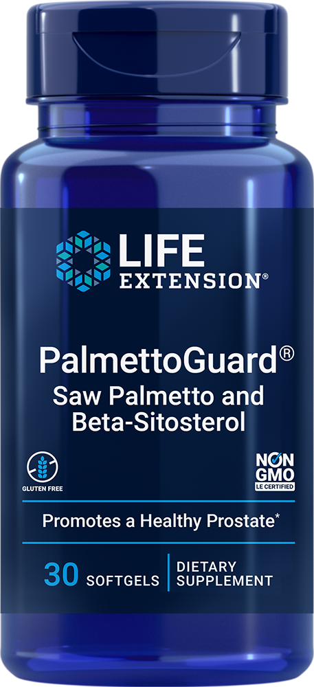 PalmettoGuard® Saw Palmetto with Beta-Sitosterol - Supports prostate health