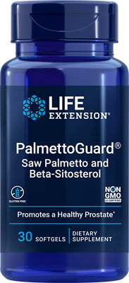 PalmettoGuard Saw Palmetto with Beta-Sitosterol, 30 softgels - Life Extension