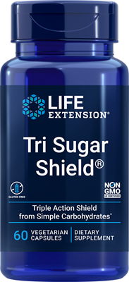 Tri Sugar Shield, 60 vegetarian capsules - Life Extension