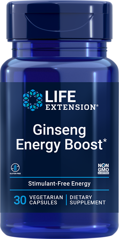 Asian Energy Boost - Boost your body's own energy source