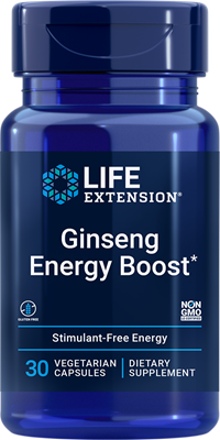 Asian Energy Boost, 90 vegetarian capsules - Life Extension