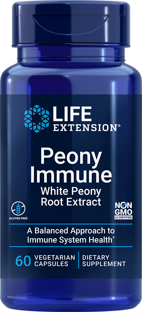 Peony Immune - A balanced approach to immune system health