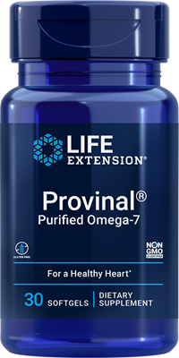 Provinal Purified Omega-7, 30 softgels - Life Extension