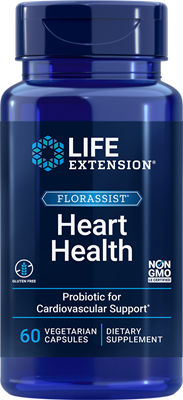 FLORASSIST Heart Health, 60 vegetarian capsules - Life Extension
