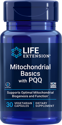 Mitochondrial Basics with PQQ, 30 capsules - Life Extension