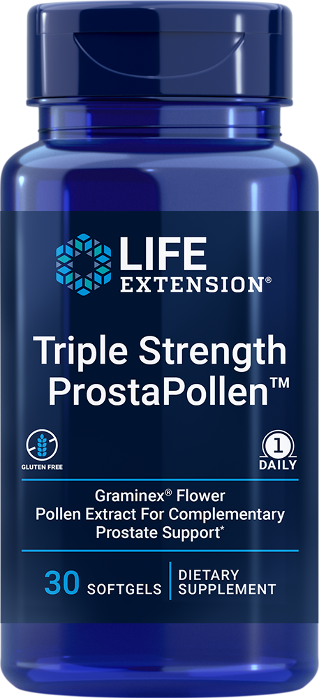 Triple Strength ProstaPollen™ - Protect your prostate and maintain its healthy function